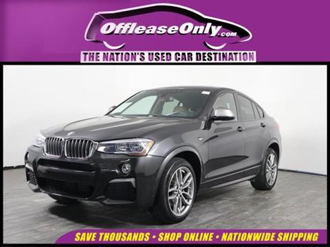 2017 BMW X4 for sale in West Palm Beach, FL