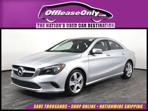2017 Mercedes-Benz CLA for sale in West Palm Beach, FL