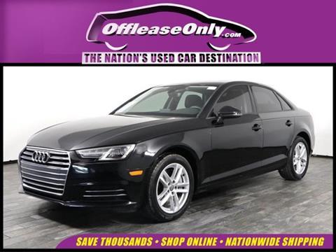 2017 Audi A4 for sale in West Palm Beach, FL