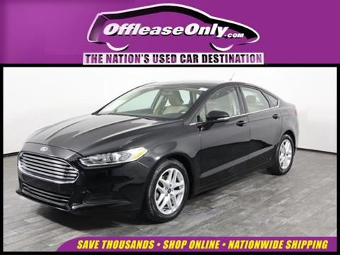 2016 Ford Fusion for sale in West Palm Beach, FL