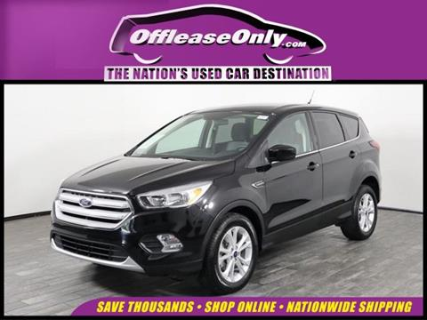 2019 Ford Escape for sale in West Palm Beach, FL