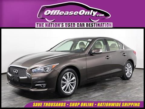 2016 Infiniti Q50 for sale in West Palm Beach, FL