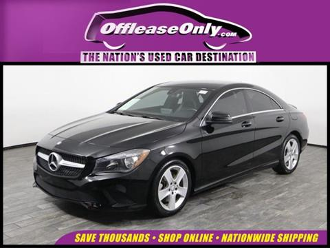 2016 Mercedes-Benz CLA for sale in West Palm Beach, FL