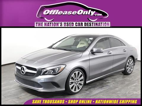2018 Mercedes-Benz CLA for sale in West Palm Beach, FL