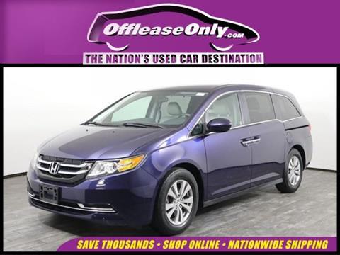 2016 Honda Odyssey for sale in West Palm Beach, FL