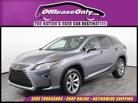 2018 Lexus RX 350 for sale in West Palm Beach, FL