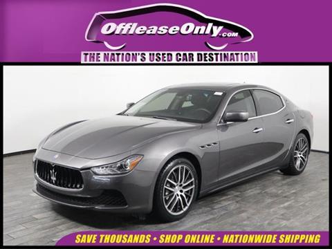 2016 Maserati Ghibli for sale in West Palm Beach, FL