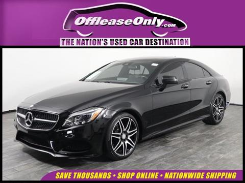 2016 Mercedes-Benz CLS for sale in West Palm Beach, FL