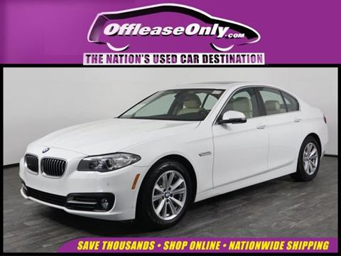 2016 BMW 5 Series for sale in West Palm Beach, FL