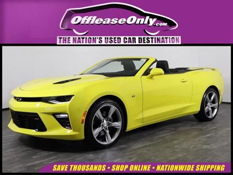 5Th Gen Camaro For Sale >> 2017 Chevrolet Camaro For Sale In West Palm Beach Fl