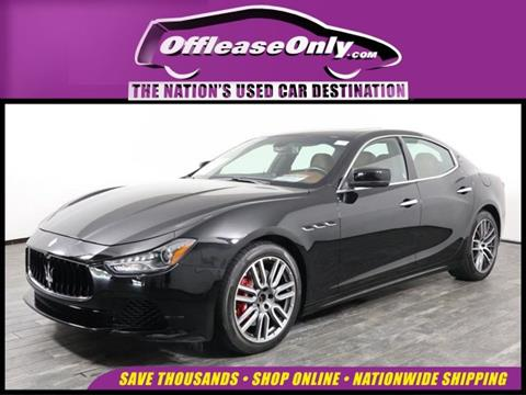2016 Maserati Ghibli for sale in West Palm Beach, FL