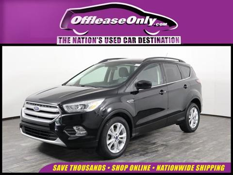 2017 Ford Escape for sale in West Palm Beach, FL