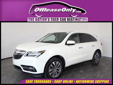 2016 Acura MDX for sale in West Palm Beach, FL