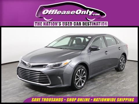 2018 Toyota Avalon for sale in West Palm Beach, FL