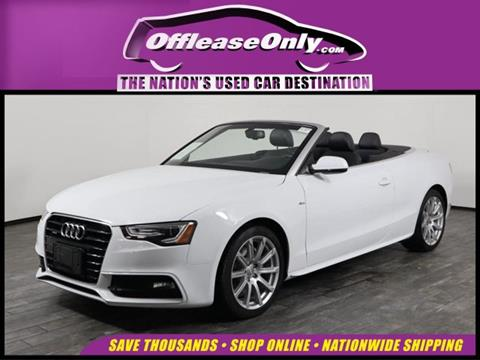 2016 Audi A5 for sale in West Palm Beach, FL