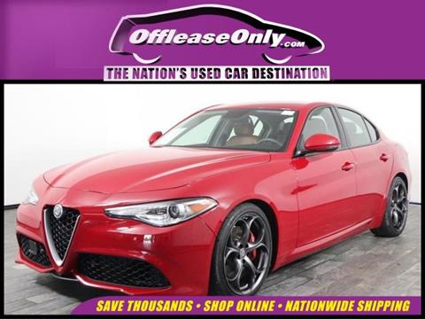 2017 Alfa Romeo Giulia for sale in West Palm Beach, FL