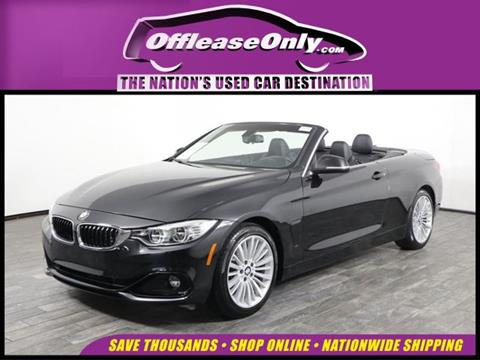 2016 BMW 4 Series for sale in West Palm Beach, FL