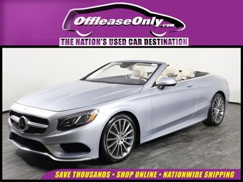 2017 Mercedes-Benz S-Class for sale in West Palm Beach, FL