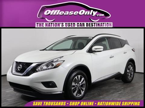 2016 Nissan Murano for sale in West Palm Beach, FL