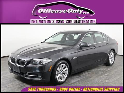 2016 BMW 5 Series for sale in West Palm Beach, FL
