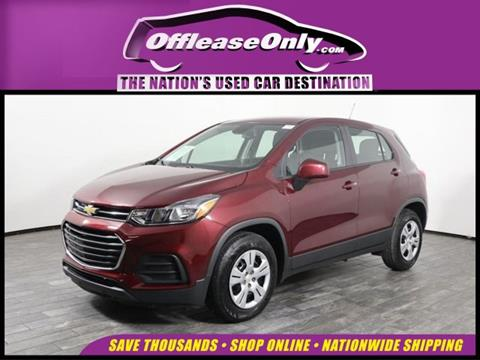 Used Chevy Trax >> 2017 Chevrolet Trax For Sale In West Palm Beach Fl