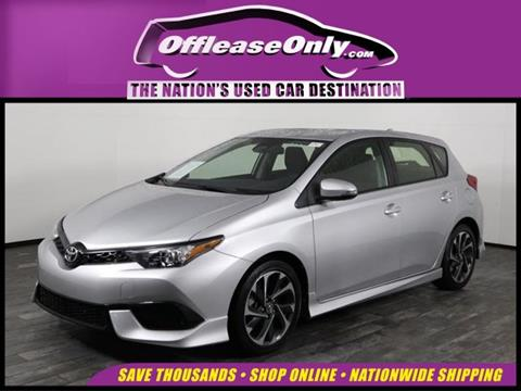 2017 Toyota Corolla iM for sale in West Palm Beach, FL
