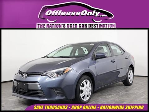 2016 Toyota Corolla for sale in West Palm Beach, FL