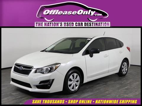 2016 Subaru Impreza for sale in West Palm Beach, FL