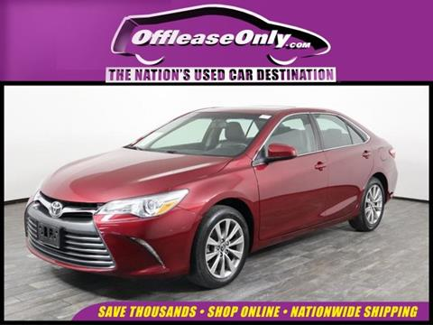 2017 Toyota Camry for sale in West Palm Beach, FL
