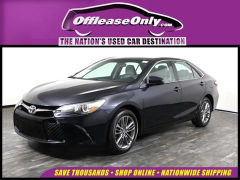2016 Toyota Camry for sale in West Palm Beach, FL