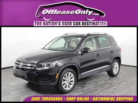 2017 Volkswagen Tiguan for sale in West Palm Beach, FL