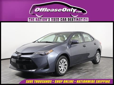 2017 Toyota Corolla for sale in West Palm Beach, FL