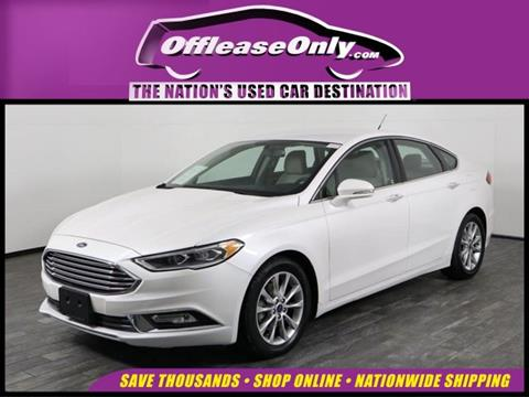 2017 Ford Fusion for sale in West Palm Beach, FL