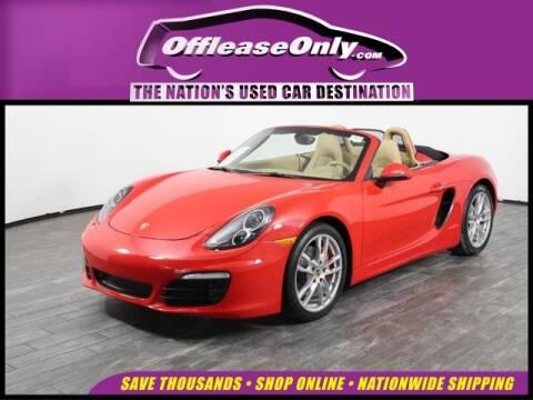 2016 Porsche Boxster for sale in West Palm Beach, FL