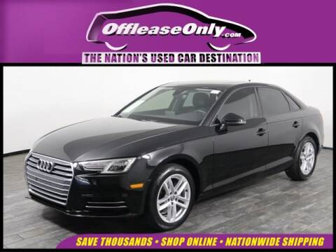 2017 Audi A4 2.0T ultra Premium for sale at OffLeaseOnly.com The Nation's Used Car Destination in West Palm Beach FL