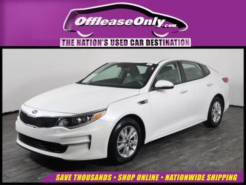 2016 Kia Optima LX for sale at OffLeaseOnly.com The Nation's Used Car Destination in West Palm Beach FL