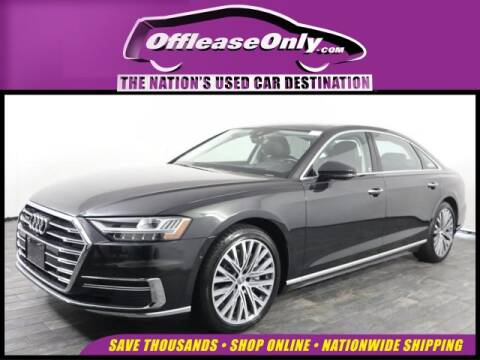 2019 Audi A8 L 3.0T quattro for sale at OffLeaseOnly.com The Nation's Used Car Destination in West Palm Beach FL