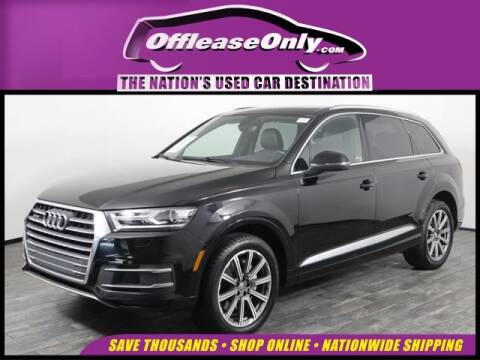 2017 Audi Q7 2.0T quattro Premium for sale at OffLeaseOnly.com The Nation's Used Car Destination in West Palm Beach FL