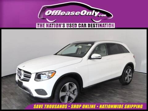 2017 Mercedes-Benz GLC GLC 300 4MATIC for sale at OffLeaseOnly.com The Nation's Used Car Destination in West Palm Beach FL