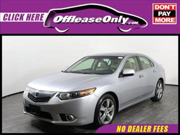 2013 Acura TSX for sale in Palm Springs, FL