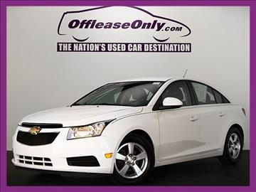2014 Chevrolet Cruze for sale in West Palm Beach, FL