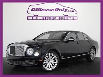 2014 Bentley Mulsanne for sale in West Palm Beach, FL