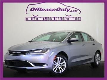 2015 Chrysler 200 for sale in West Palm Beach, FL