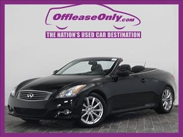2013 Infiniti G37 Convertible for sale in West Palm Beach, FL