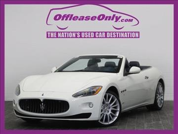 2011 Maserati GranTurismo for sale in West Palm Beach, FL
