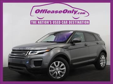 2016 Land Rover Range Rover Evoque for sale in West Palm Beach, FL