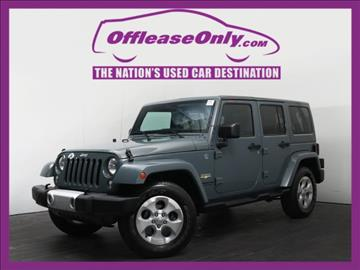 2014 Jeep Wrangler Unlimited for sale in West Palm Beach, FL