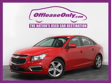 2015 Chevrolet Cruze for sale in West Palm Beach, FL