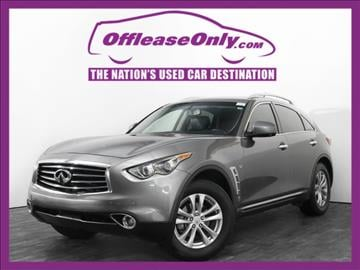 2015 Infiniti QX70 for sale in West Palm Beach, FL