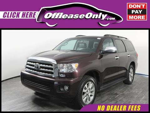 2016 Toyota Sequoia for sale in West Palm Beach, FL
